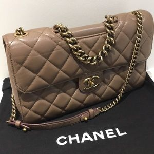 Chanel leather limited edition bag.